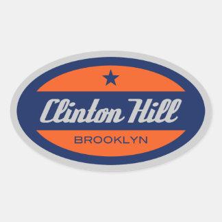 クリントン丘 楕円形シール