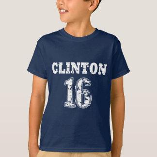 クリントン16 Tシャツ