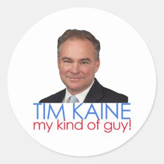 クリントンKaine -私の種類の人! ラウンドシール