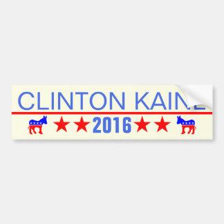 クリントンKAINE 2016年 バンパーステッカー