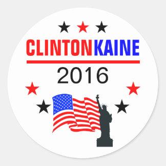 クリントンKAINE 2016年 ラウンドシール