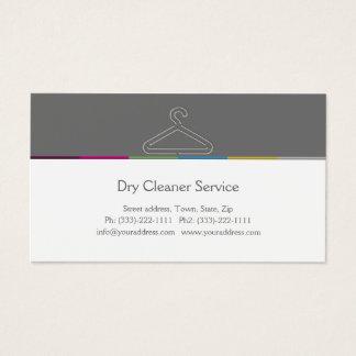 クリーニング屋のサービス業カード 名刺