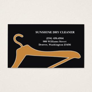 クリーニング屋またはクリーニング業カード 名刺