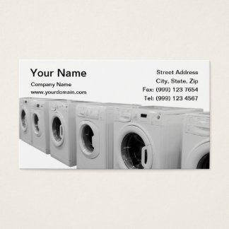 クリーニング業カード 名刺