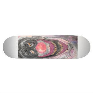 """""""クリーパー""""の娘Wallen著気色悪いピエロの芸術 21.6cm スケートボードデッキ"""