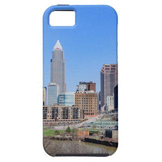 クリーブランドのスカイライン iPhone SE/5/5s ケース