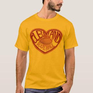 クリーブランドのフットボールのTシャツ。 Tシャツ