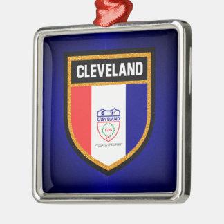 クリーブランドの旗 メタルオーナメント