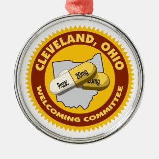 クリーブランドの歓迎 メタルオーナメント