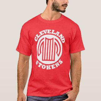 クリーブランドの火夫(赤い) Tシャツ