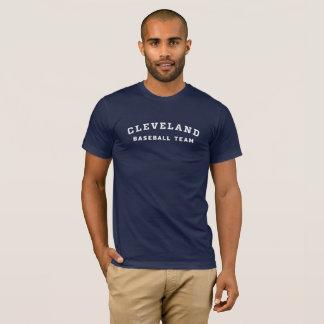 クリーブランドの野球チームのティー Tシャツ