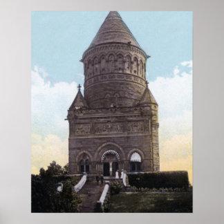 クリーブランドオハイオ州ガーフィールド記念碑 ポスター