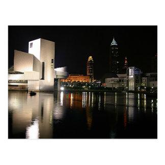 クリーブランドオハイオ州ロックンロール栄誉の殿堂 ポストカード