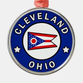 クリーブランドオハイオ州 メタルオーナメント