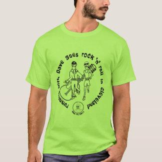 クリーブランド緑のデーブと走ること Tシャツ