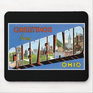 クリーブランド、オハイオ州からの挨拶! マウスパッド