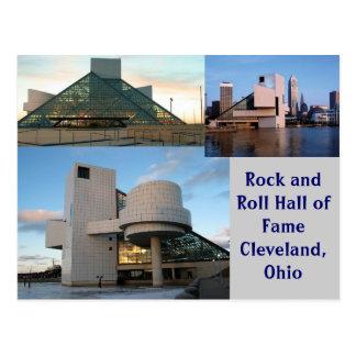 クリーブランド、オハイオ州ロックンロール栄誉の殿堂 ポストカード