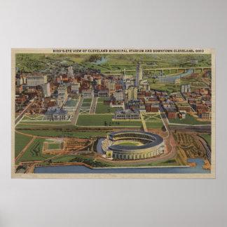 クリーブランド、オハイオ州- Municipal ポスター