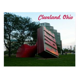 クリーブランド(自由な陸標)の郵便はがき ポストカード