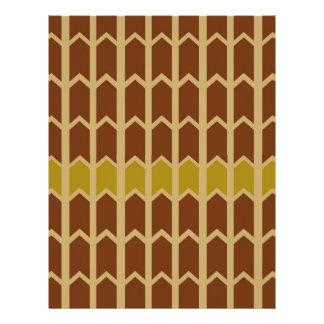 クリーミーなあずき色のパネルの塀 レターヘッド