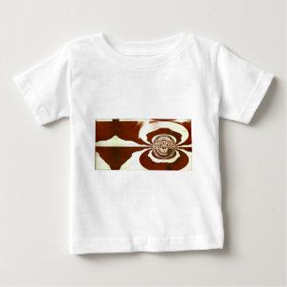 クリームおよびチョコレート ベビーTシャツ