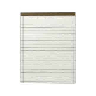 クリームによって着色されるノート ノートパッド