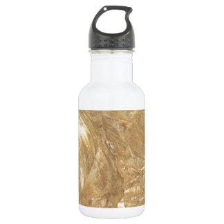 クリーム大理石の模造のな終わり ウォーターボトル