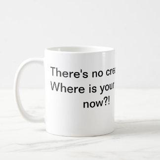 クリーム無し神無し コーヒーマグカップ