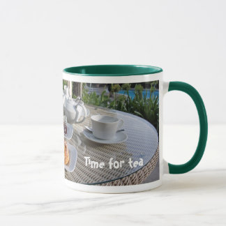 クリーム色の茶マグ マグカップ