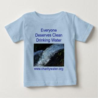 クリーンウォーターの乳児のワイシャツ ベビーTシャツ
