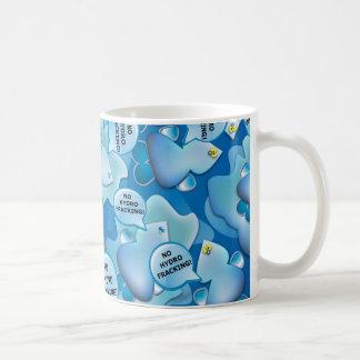 クリーンウォーターの低下はハイドロFrackingを出動させません! コーヒーマグカップ