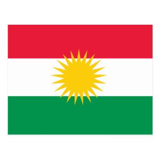 クルジスタンの旗 ポストカード