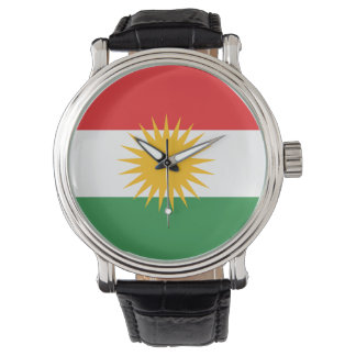 クルジスタンの旗 腕時計