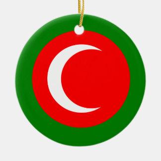 クルジスタンの旗(1922-1924年、1925年)の王国 セラミックオーナメント