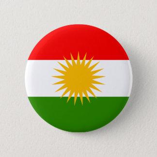 クルジスタンの旗 5.7CM 丸型バッジ