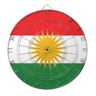 クルジスタンの旗(AlayのクルジスタンかAlaya Rengîn) ダーツボード