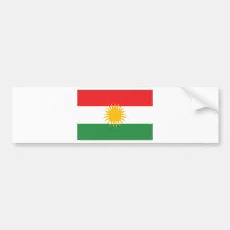 クルジスタンの旗(AlayのクルジスタンかAlaya Rengîn) バンパーステッカー