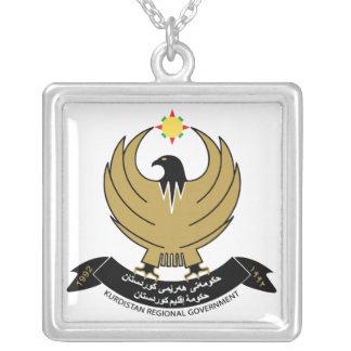 クルジスタンの紋章付き外衣 シルバープレートネックレス