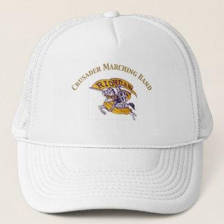クルセーダーのマーチングバンドの帽子 キャップ