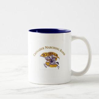 クルセーダーのマーチングバンド ツートーンマグカップ