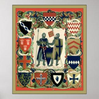 クルセーダーの騎士 ポスター