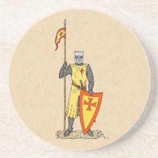 クルセーダーの騎士、13世紀初頭 コースター