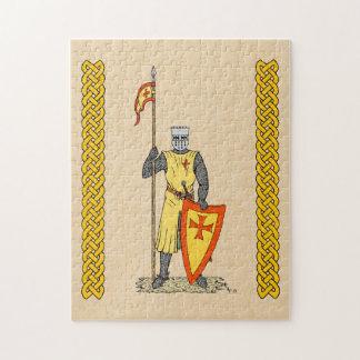 クルセーダーの騎士、13世紀初頭 ジグソーパズル