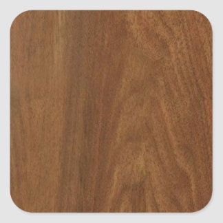 クルミの木製のアメリカの終わりのブランクのblanche + 文字 スクエアシール
