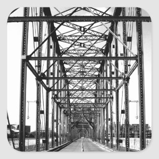 クルミの通り橋-チャタヌーガ、TN スクエアシール