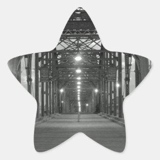 クルミの通り橋 星シール