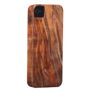 クルミ(木製の穀物)のiPhone 4の穹窖の箱 Case-Mate iPhone 4 ケース