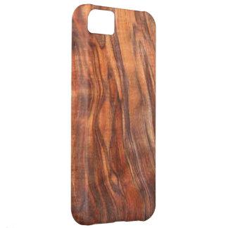 クルミ(木製の穀物)のiPhone 5の穹窖の箱 iPhone5Cケース