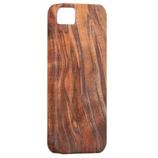 クルミ(木製の穀物)のiPhone 5の穹窖の箱 iPhone SE/5/5s ケース