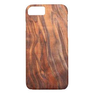クルミ(木製の穀物)のiPhone 7の場合 iPhone 8/7ケース